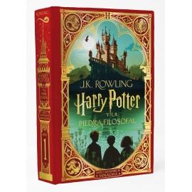 Libro Hary Potter y la piedra filosofal - Ed. MinaLima