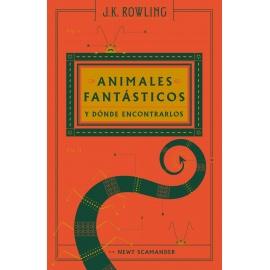Libro Animales fantásticos y donde encontrarlos - Harry Potter