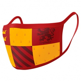 Pack 2 mascarillas Gryffindor - Harry Potter