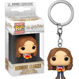 Llavero Pocket POP Harry Potter Holiday Hermione