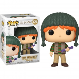 Figura Pop! Harry Potter Holiday - Ron Weasley