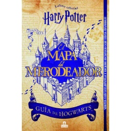 Libro Mapa del merodeador - Harry Potter