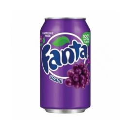 Fanta sabor uva (grape). Refresco 355ml
