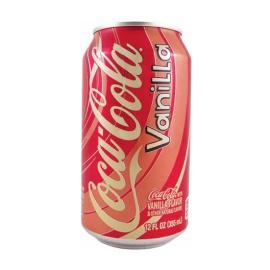Coca Cola vainilla. Refresco 355ml