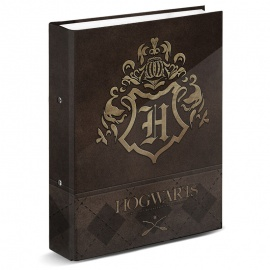 Carpeta A4 Hogwarts Harry Potter anillas