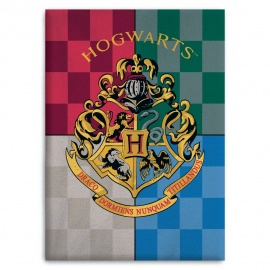 Manta polar escudo Hogwarts Harry - Potter
