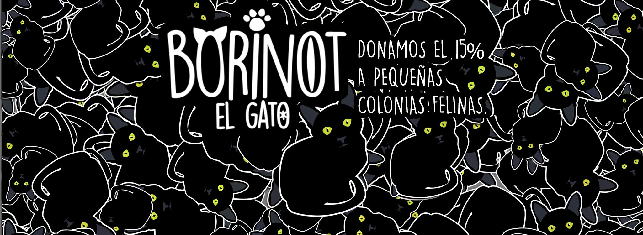 Borinot el Gato. 15% a colonias felinas
